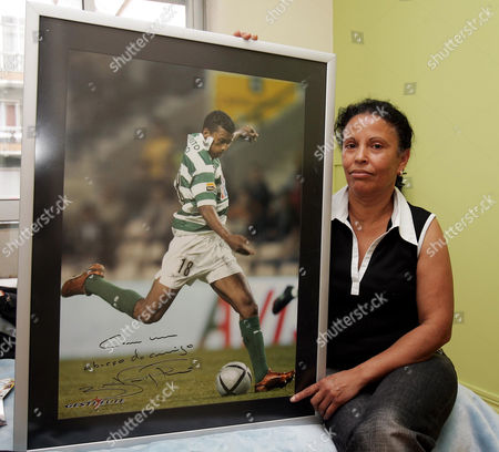 Footballing superstar Luis Nani, who has signed to Manchester United from Sporting Lisbon Luis Nani's  aunt Antonia Almeida  who brought him up after his mother and father left him in Lisbon