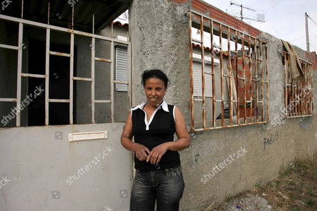 Footballing superstar Luis Nani, who has signed to Manchester United from Sporting Lisbon Luis Nani's  aunt Antonia Almeida  with the one bedroomed house in the slums of Lisbon she brought Luis Nani up in the after his mother and father left him in Lisbon