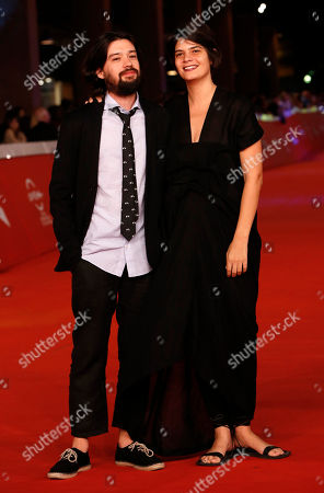 Israel Cardenas Lauria Amelia Guzman Directors Israel Cardenas and Lauria Amelia Guzman, right, pose on the red carpet as they arrive for the screening of the movie 'Sand Dollars' at the 9th edition of the Rome Film Festival in Rome