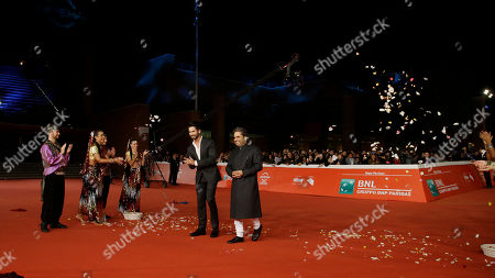 Editorial picture of Italy Rome Film Festival Haider Red Carpet, Rome, Italy