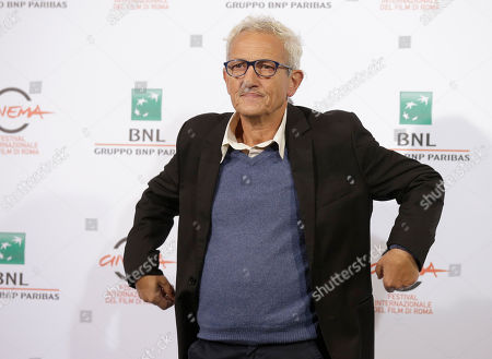 Director Joao Botelho poses for photographers during the photo call of the movie 'Os Maias' at the 9th edition of the Rome International Film Festival in Rome