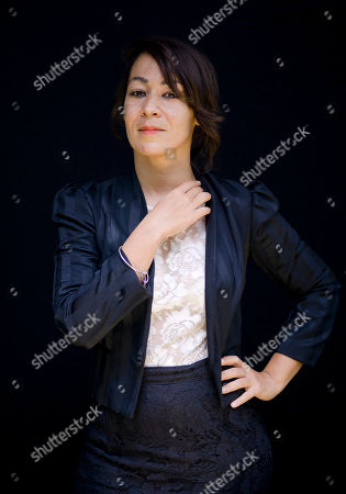 Tala Hadid Director Tala Hadid poses for portraits during the 9th edition of the Rome Film Festival in Rome