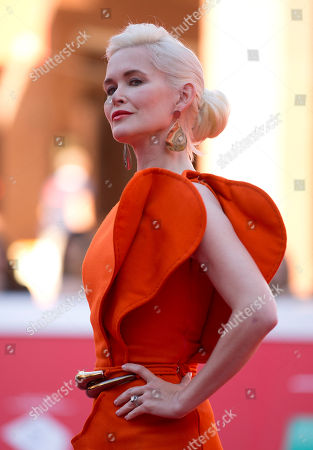 Director Gren Wells poses for photographers during the red carpet of the movie ' The Road Within' at the 9th edition of the Rome International Film Festival in Rome