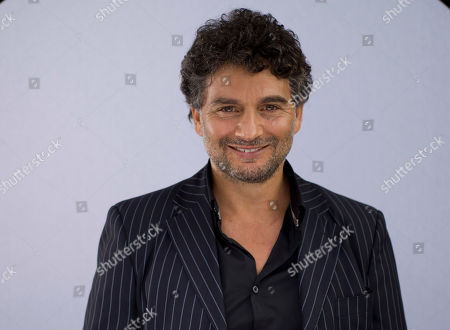 Leandro Amato Actor Leandro Amato poses for portraits during the 9th edition of the Rome Film Festival in Rome