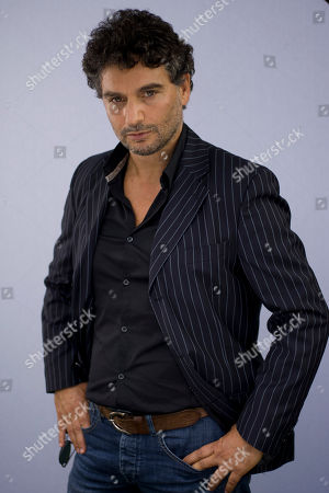 Stock Image of Leandro Amato Actor Leandro Amato poses for portraits during the 9th edition of the Rome Film Festival in Rome