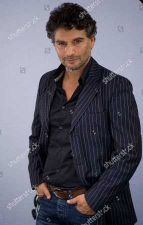 Stock Photo of Leandro Amato Actor Leandro Amato poses for portraits during the 9th edition of the Rome Film Festival in Rome