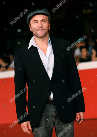 Gianfranco Gallo Italian actor Gianfranco Gallo poses on the red carpet as he arrives for the screening of the movie 'Tre tocchi' at the 9th edition of the Rome Film Festival in Rome
