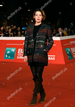 Martina Codecasa Italian actress Martina Codecasa poses on the red carpet as she arrives for the screening of the movie 'Tre tocchi' at the 9th edition of the Rome Film Festival in Rome