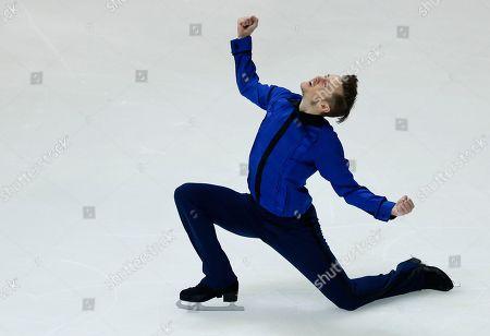 Jeremy Abbott Jeremy Abbott of the United States performs during the men's short program of the NHK Trophy figure skating in Osaka, western Japan