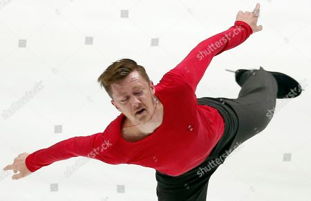 Jeremy Abbott Jeremy Abbott of the United States performs during the men's free skate of the NHK Trophy figure skating in Osaka, western Japan