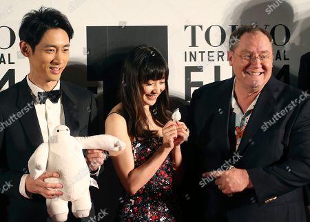 Editorial picture of Japan Tokyo International Film Festival, Tokyo, Japan