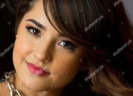 Becky G, Rebbeca Marie Gomez U.S. singer Becky G poses during a photo call at a hotel in Mexico City, . The 17-year-old Californian, whose full name is Rebbeca Marie Gomez, is making her first public appearance in the country, opening three shows for Katy Perry in Monterrey and Mexico City