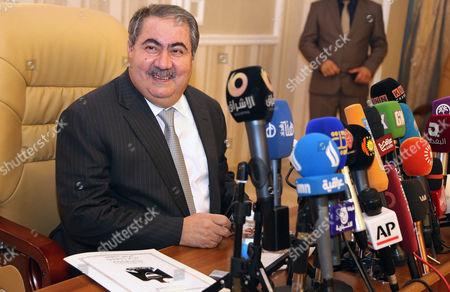 Hoshyar Zebari Iraq's Finance Minister Hoshyar Zebari speaks at a press conference in Baghdad, Iraq