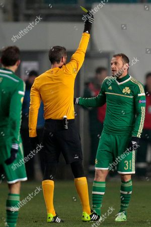 Editorial image of Russia Soccer Europa League, Moscow, Russia