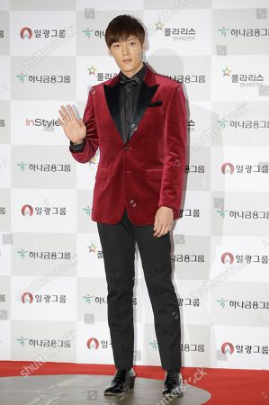 Chooi Jin-hyuk South Korean actor Choi Jin-hyuk poses for a photo call during the Daejong Film Awards in Seoul, South Korea