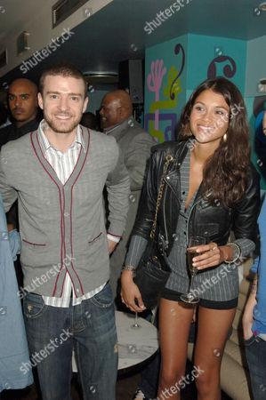 Justin Timberlake and Jamie Gunns