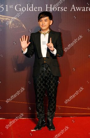 Mickey Huang Taiwanese actor Mickey Huang poses on the red carpet at the 51st Golden Horse Awards in Taipei, Taiwan, . Huang is the host at this year's Golden Horse Awards, one of the Chinese-language film industry's biggest annual events