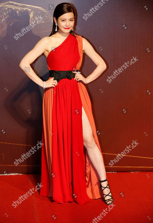 Stock Photo of Michelle Chen Taiwanese actress Michelle Chen poses on the red carpet at the 51st Golden Horse Awards in Taipei, Taiwan, . Chen is a guest at this year's Golden Horse Awards, one of the Chinese-language film industry's biggest annual events