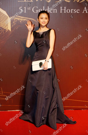 """Zhang Huiwen Chinese actress Zhang Huiwen arrives at the 51st Golden Horse Awards in Taipei, Taiwan, . Zhang is nominated for Best New Performer for the film """"Coming Home"""" at this year's Golden Horse Awards - one of the Chinese-language film industry's biggest annual events"""