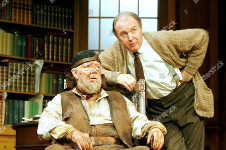 'Pygmalion' - Tony Haygarth (Alfred Dolittle) and Tim Pigott-Smith (Henry Higgins)