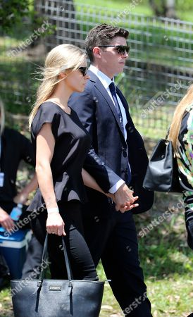 Sean Abbott NSW cricketer Sean Abbott arrives for the funeral of Australian cricketer Phil Hughes in Macksville, Australia, . Hughes died last Thursday, aged 25, after being hit near the ear by a ball during a domestic match
