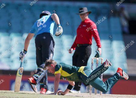 Editorial image of Australia England Cricket, Sydney, Australia