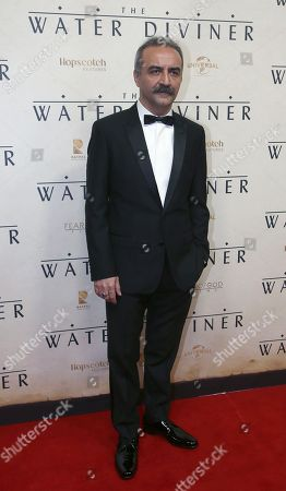 Yilmaz Erdogan Turkish actor Yilmaz Erdogan arrives to the world premiere of his movie, The Water Diviner, in Sydney
