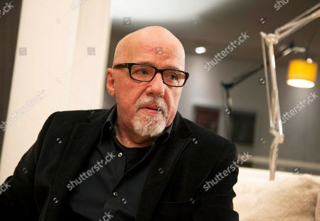 """Paulo Coelho Brazilian author Paulo Coelho appears during an interview at his apartment, in Geneva, Switzerland. Alfred A. Knopf announced, that Coelho's """"The Spy,"""" a first-person narrative about the Dutch-born dancer and courtesan, will come out Nov. 22"""