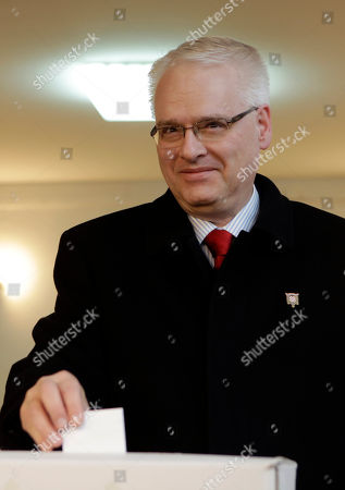 Ivo Josipovic Incumbent Ivo Josipovic casts his ballot at a polling station in Zagreb, Croatia, . A liberal incumbent and a conservative rival are heading into a surprisingly close showdown in Croatia's presidential runoff held amid deep discontent over economic woes in the European Union's newest member