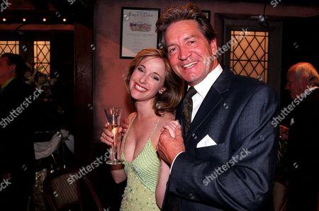 'Emmerdale'  TV - 2001 - Lady Tara Oakwell (Anna Brecon) and  Rodney Blackstock (Patrick Mower)