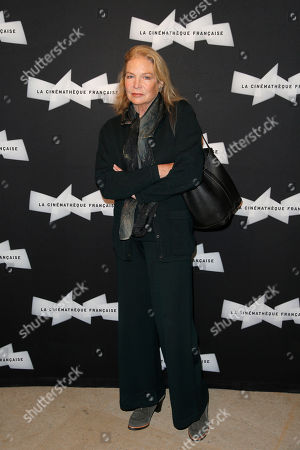 Actress Alexandra Stewart poses during a photo call for the 'Pasolini' screening of Director Abel Ferrara at the Cinematheque Francaise in Paris