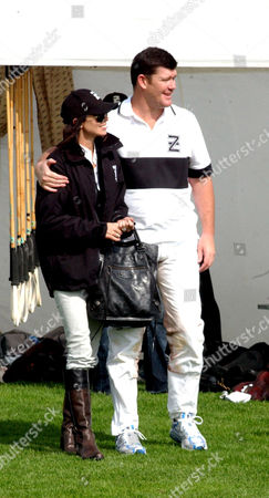 James Packer and his new wife Erica Baxter