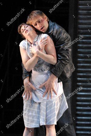 Richard Winsor as Angelo, Kerry Biggin as Rita