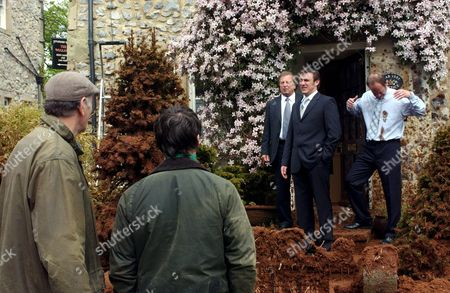 'Emmerdale'   - Tom King (Ken Farrington), Matthew King (Matt Healy) and Jimmy King (Nick Miles), Jack Sugden (Clive Hornby) and Andy Sugden (Kelvin Fletcher)