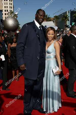 Shaquille O'Neal and wife Shaunie O'Neal