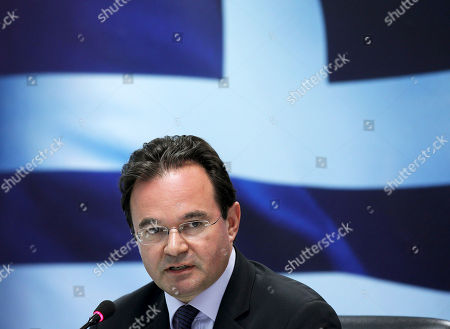 George Papaconstantinou Greek Finance Minister George Papaconstantinou speaks during a news conference in Athens. Greece's former finance minister, George Papaconstantinou, was indicted before a special court on criminal charges over his handling of data on Greeks holding Swiss bank accounts. A council of Supreme Court judges ruled Thursday that Papaconstantinou, 53, should stand trial for attempted breach of faith, and tampering with an official document