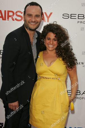 Marissa Jaret Winokur with husband Judah Miller