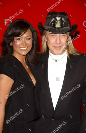 Stock Image of Jose Eber and friend