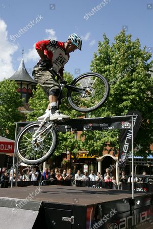 Martyn Ashton British Champion mountain bike rider.
