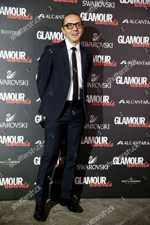 Tommaso Aquilano attends the 2014 Glamour Awards event hosted by Glamour magazine in Milan, Italy