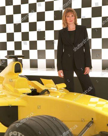 Louise Goodman, TV Presenter, ITV's 'Formula 1' - 2004