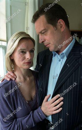 'Sweet Medicine' - 2003 - L-R: Christine Kavanagh as Sam Lawrence and Jack Ellis as Matt Lawrence.