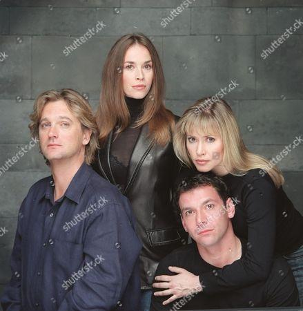 'Peak Practice' - 2001 - L-R Simon Shepherd, Eva Pope, Gray O'Brien and Maggie O'Neill