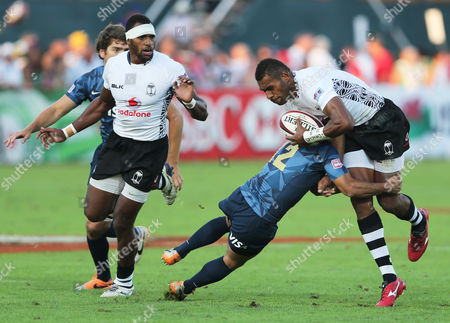 Editorial photo of Mideast Emirates Rugby Sevens, Dubai, United Arab Emirates
