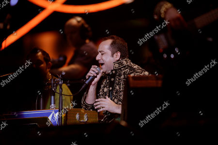 Pakistani singer Rahat Fateh Ali Khan performs on stage during the Nobel Peace Prize Concert in Oslo, Norway, . Malala Yousafzai from Pakistan and Kailash Satyarthi of India both received the Nobel Peace Prize on Wednesday