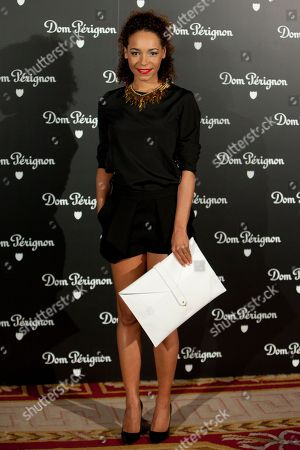 Montse Pla Spanis actress Montse Pla poses for photographers during the photocall of Dom Perignon in Madrid, on