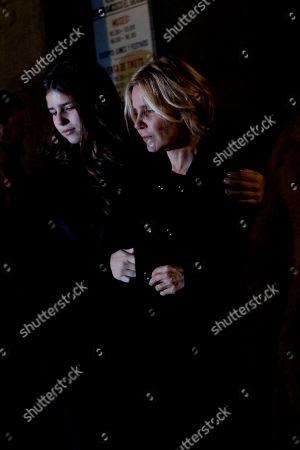 Cayetana Rivera, Eugenia Martinez de Irujo Eugenia Martinez de Irujo, right, and her daughter, Cayetana Rivera, left, after the Funeral Mass in honor of the Duchess of Alba at Real Basilica de San Francisco el Grande in Madrid, Spain