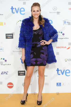 Mar Regueras Spanish actess Mar Regueras poses for photographers during the photocall of the Jose Maria Forque Awards in Madrid, Spain