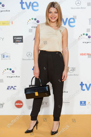 Thais Blume Spanish actress Thais Blume poses for photographers during the photocall of the Jose Maria Forque Awards in Madrid, Spain