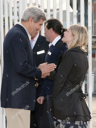 John Kerry U.S. Secretary of State John Kerry, left, meets with Australian sailor Jessica Watson, right, during a visit to the National Maritime Museum in Sydney, . Kerry and US Secretary of Defense Chuck Hagel are in Sydney for the annual Australia-United States Ministerial (AUSMIN) talks